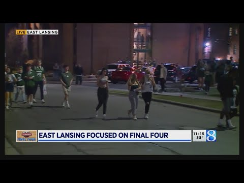 Police Handle Disappointing Crowds In East Lansing