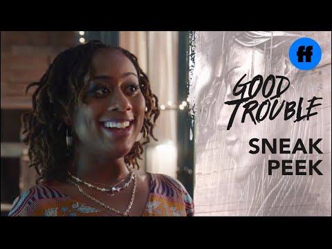 Good Trouble Season 3, Episode 7 | Sneak Peek: Malika Welcomes Isaac & Dyonte | Freeform