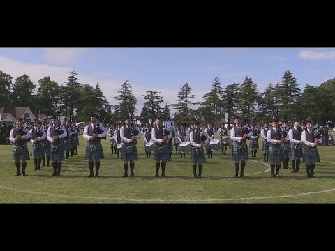 Inveraray & District Pipe Band: 2016 European Drumming Champions