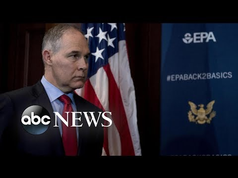Documents show Scott Pruitt spent $832,000 of taxpayer funds on security