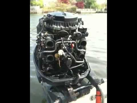 Evinrude fuel leak  YouTube