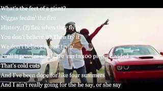 Ride Out - Fast & Furious 7 Song - Lyrics