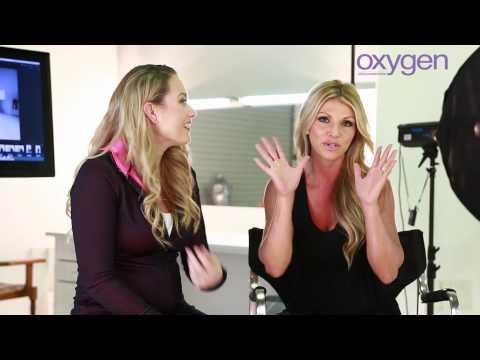 Australian Oxygen Editor in Chief Lindy Olsen talks with cover girl Kim Dolan Leto