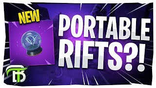 *NEW* Rift-to-Go Item in Fortnite Battle Royale