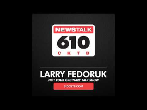 NEWS TALK 610.  TALK RADIO.  PODCAST.  LARRY FEDORUK.  THE BAPTIST. AUTHOR:Ryan David Gerard