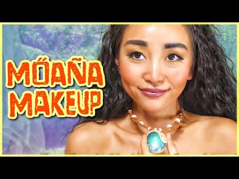 ディズニー モアナメイク【モアナと伝説の海】 Disney MOANA Makeup Tutorial [Eng Subs]