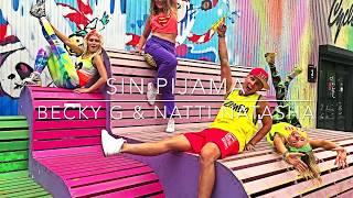 Sin Pijama - Becky G & Natti Natasha | Zumba Dance Choreo