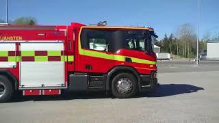Nueva doble cabina CrewCab Scania para bomberos