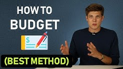 Simplest Budgeting Method To Save Money