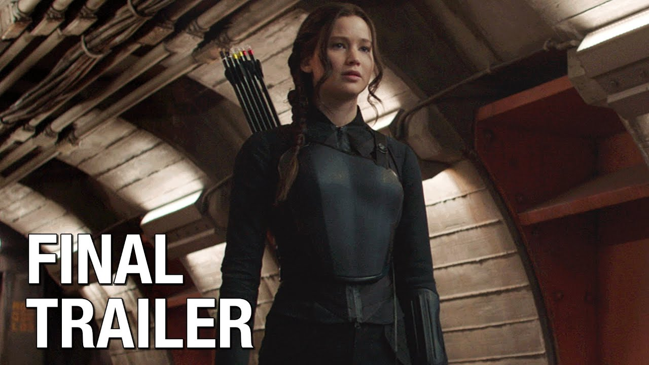 "The Hunger Games: Mockingjay Part 1 (Jennifer Lawrence) Final Trailer – ""Burn"""