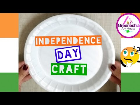 Independence Day Crafts | Best out of waste paper plates crafts | Easy paper plate crafts for kids