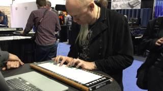 Jordan Rudess' first couple of minutes on the LinnStrument