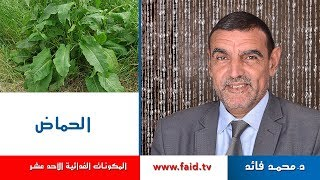 Dr Faid   الحماض  الخضر  المكونات الغذائية الأحد عشر   دكتور محمد فائد