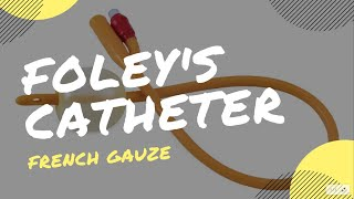 How to remember foley's catheter french gauze size by color? #Mnemonic for foley's Catheter