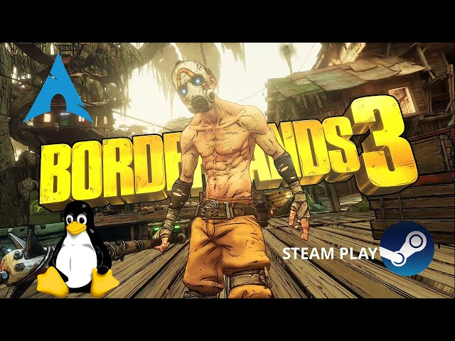 Borderlands 3 - Steam Play/proton-GE   Linux Gameplay
