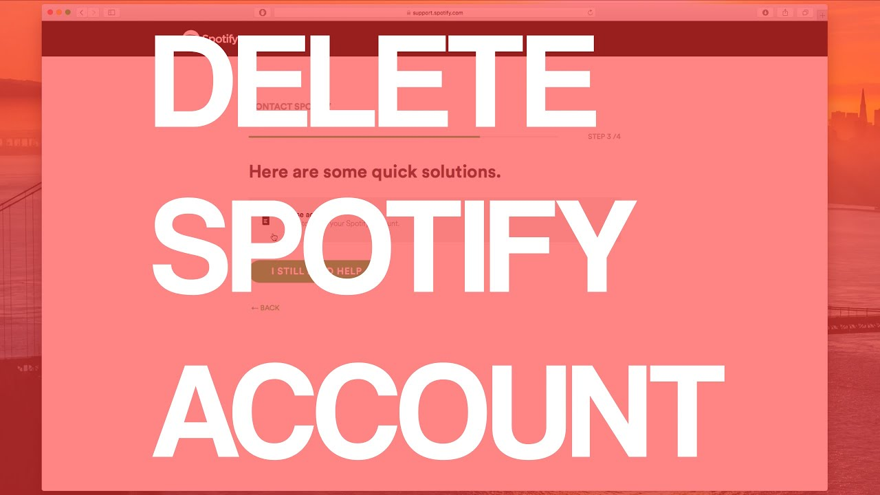 How To Delete Spotify Account 2016