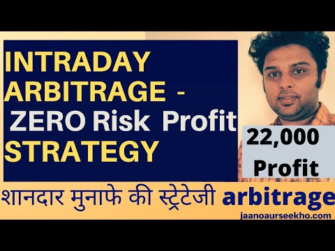 Zero Risk Profit Strategy with arbitrage trading - Live 22k profits Intraday!