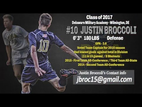 Justin Broccoli 2015 Highlights (Delaware Military Academy)