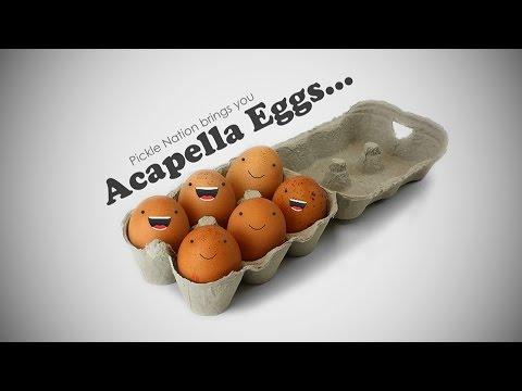 Baa Baa Black Sheep  Acapella Eggs  PickleNation TV Nursery Rhymes & Songs For Children