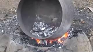 Handmaking Aluminium Pots in Africa