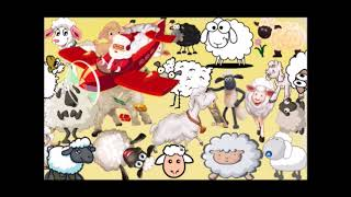 Can you find and count the sheep in this video? Santa and sheep are trying to confuse you!