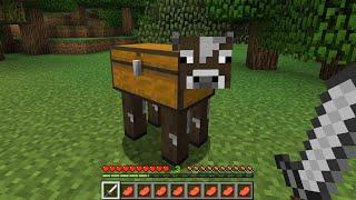 牛がチェストになりました【マイクラ】【鳥犬猿MODクラフト #7】
