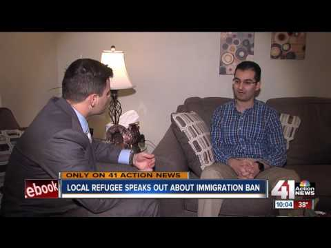 Local refugee speaks out about immigration ban