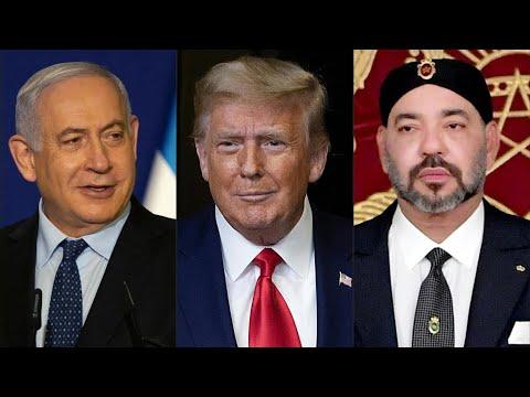 Le Maroc Et Israël Normalisent Leurs Relations Diplomatiques Sous L'égide De Donald Trump