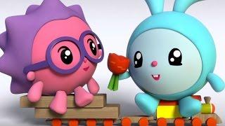 Малышарики 2 серия - Прогулка - обучающие мультфильмы для малышей 0-4