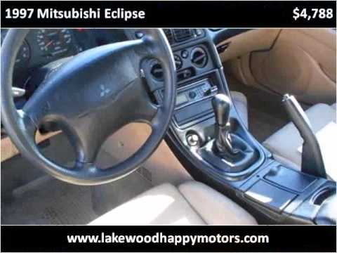 1997 mitsubishi eclipse used cars lakewood co youtube for Happy motors inc lakewood co
