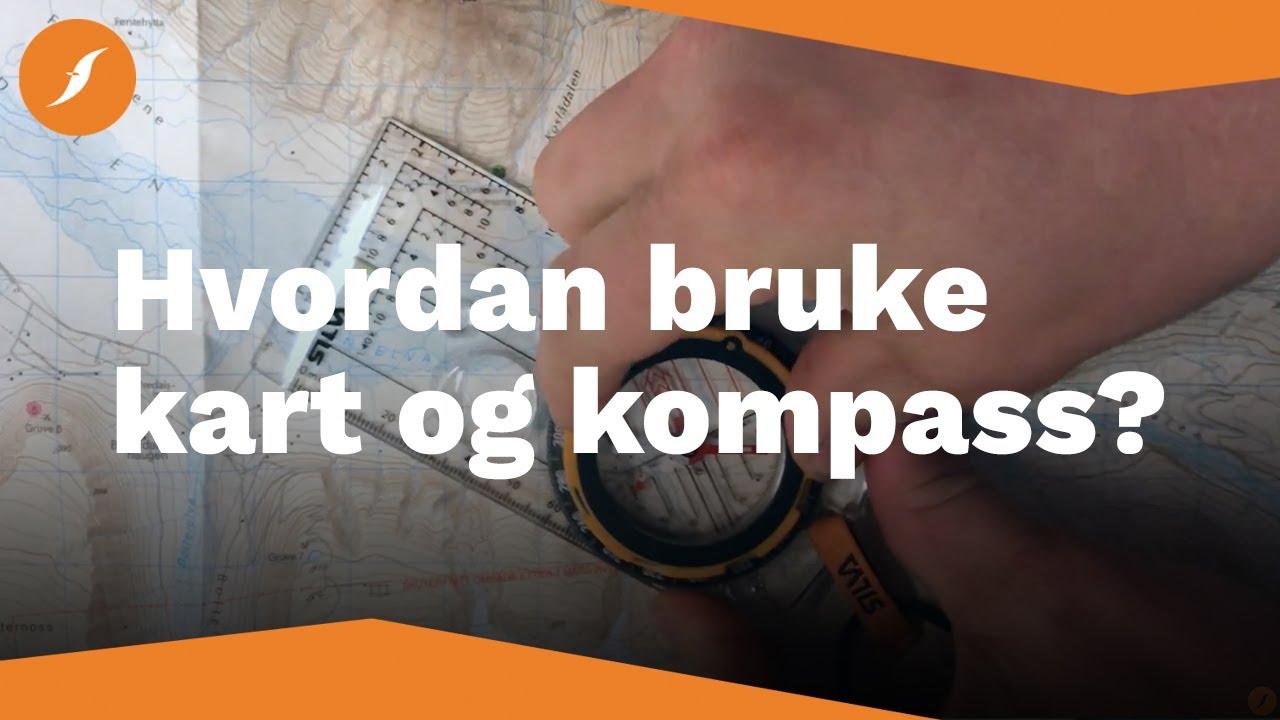 Hvordan Bruke Kart Og Kompass Fjellsport No