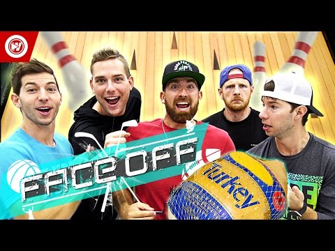 Thumbnail: Dude Perfect Thanksgiving Turkey Bowling | FACE OFF