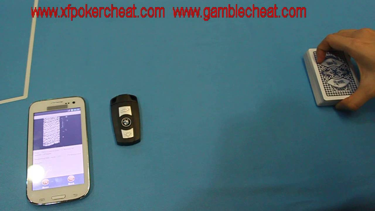 BMW Car - Key Camera Poker Scanner To Scan And Analyze Bar Codes Sides Cards