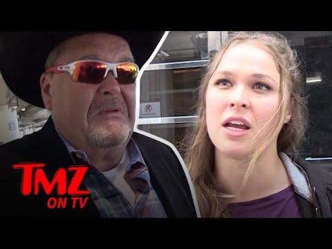 Is Ronda Rousey Headed To WWE? | TMZ TV