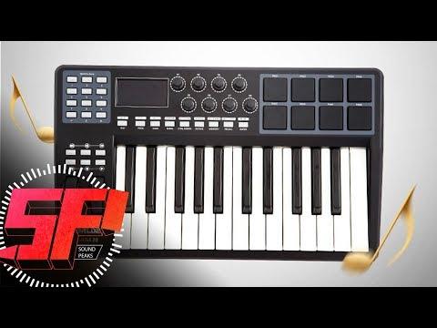 Worlde (Ammoon) Panda 25 MIDI Controller overview