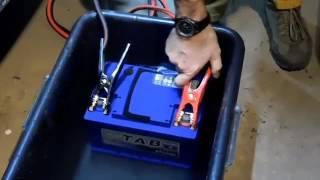 Аккумулятор TAB способен запустить двигатель из под воды