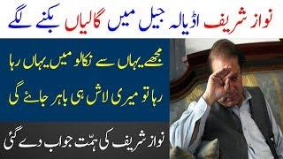 Nawaz Sharif Jail Main Galiyan Dainy Lgy | Nawaz Sharif in Jail | Limelight Studio