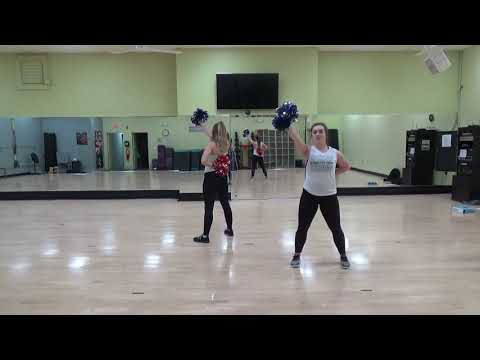 Mid American Pompon All Star Iceland Pom Routine Instruction Song #2