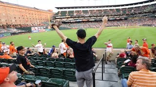Catching a Joey Gallo GAME HOME RUN at Camden Yards!