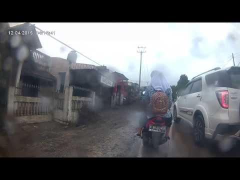 Honda SupraFit 2008: Sukabumi-Bandung (Feb 2017) part 3: Motor failure at Sukabumi Kota Timur