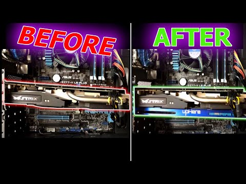 How-to: Fix GPU Sag -- UpHere GPU Brace Install And Review