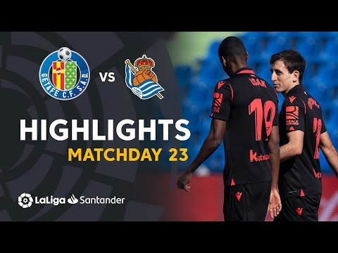 Getafe Real Sociedad Goals And Highlights