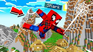 PLAYING MINECRAFT AS SPIDERMAN!