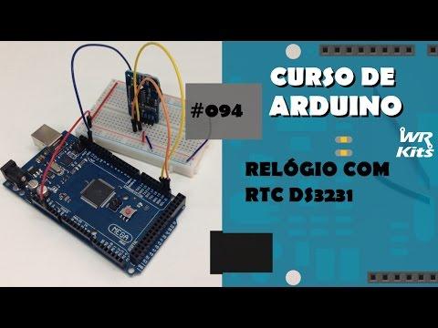 RELÓGIO COM RTC DS3231 | Curso De Arduino #094