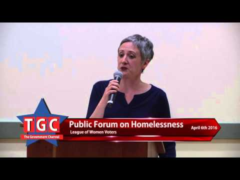 Homelessness in Athens County Forum