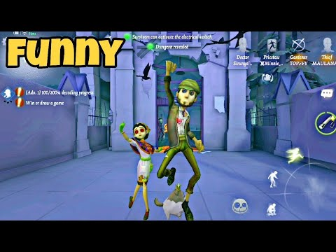 identity V Funny moments 29 - special 1000 sub