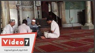حلقات قرآن كريم بالجامع الأزهر