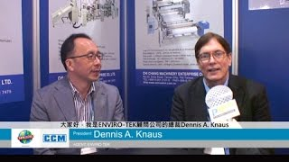 NPE 2015-Interview with Taiwan Manufacturer-CHI CHANG MACHINERY ENTERPRISE CO., LTD.