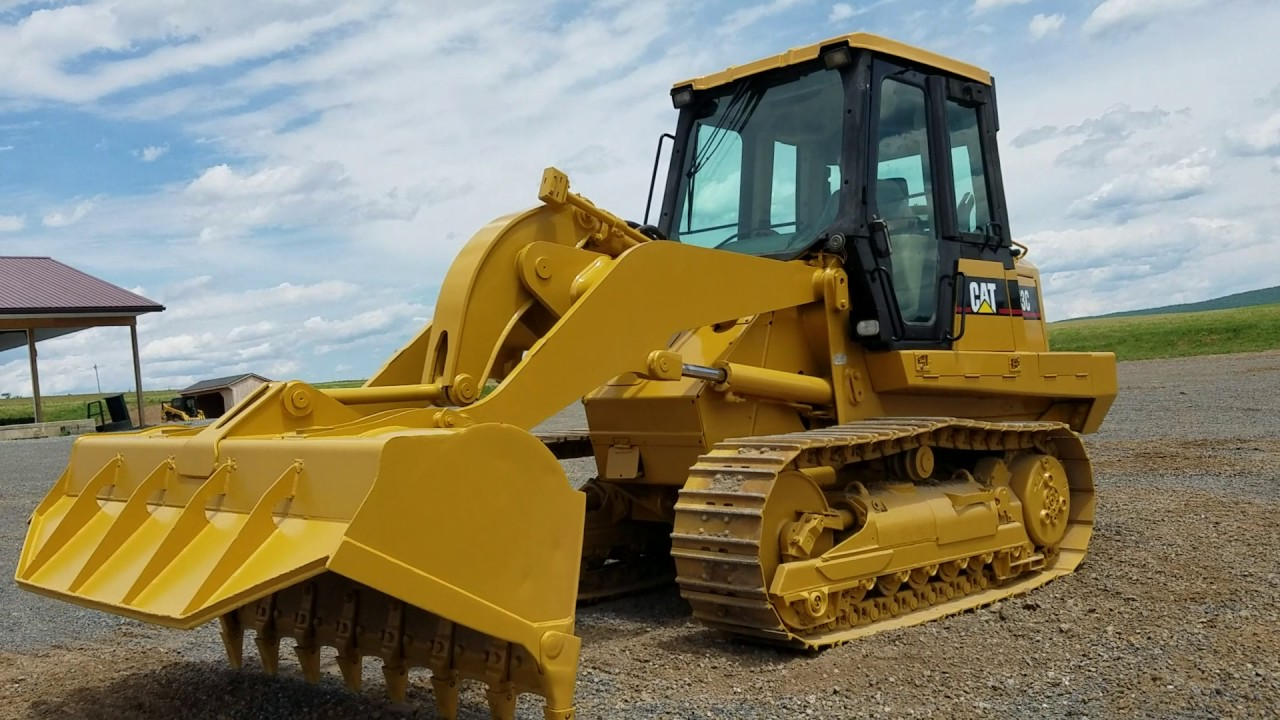 Track Loader For Sale >> Cat 953c Track Loader For Sale Operating Video Youtube