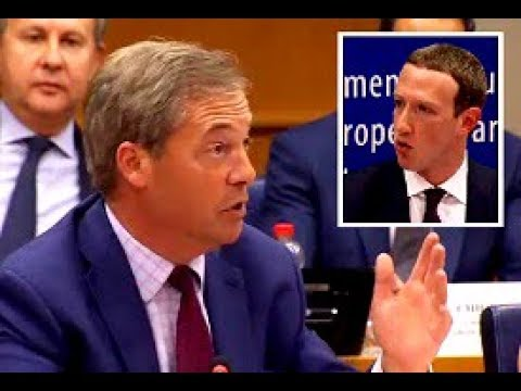 Farage: Who decides what's politically acceptable, Mr Zuckerberg?
